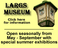 Largs Museum Advert